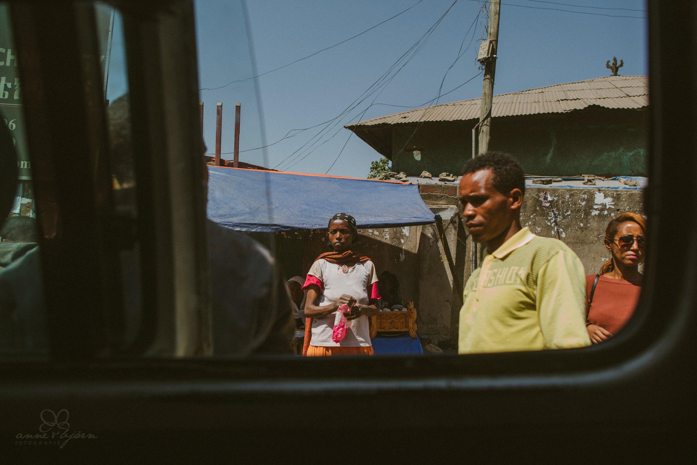 Bus, drive, Ethopia, Menschen,