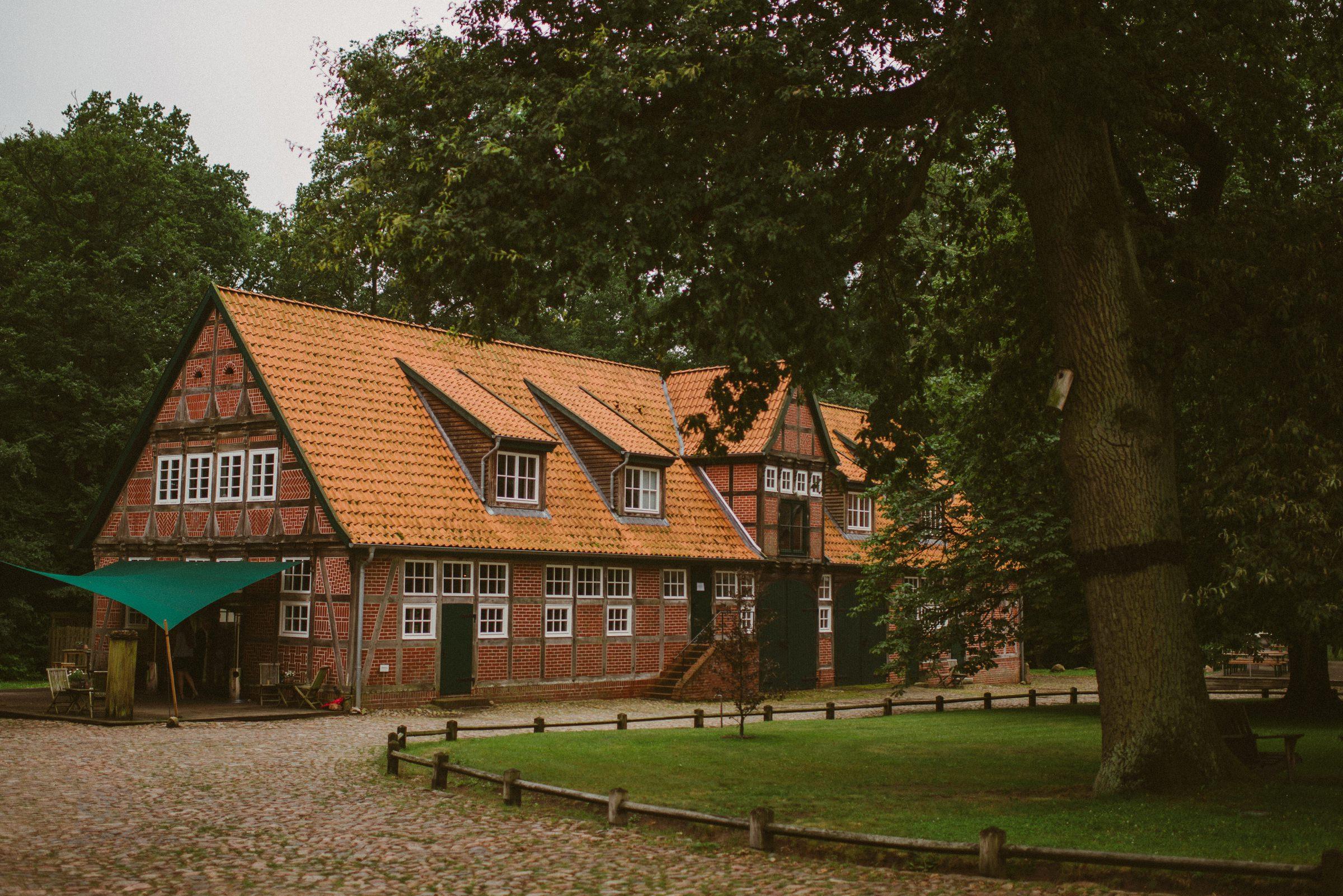 Gutshof, Soderstorf, Heide, Lüneburg, Hannover, Gut Thansen