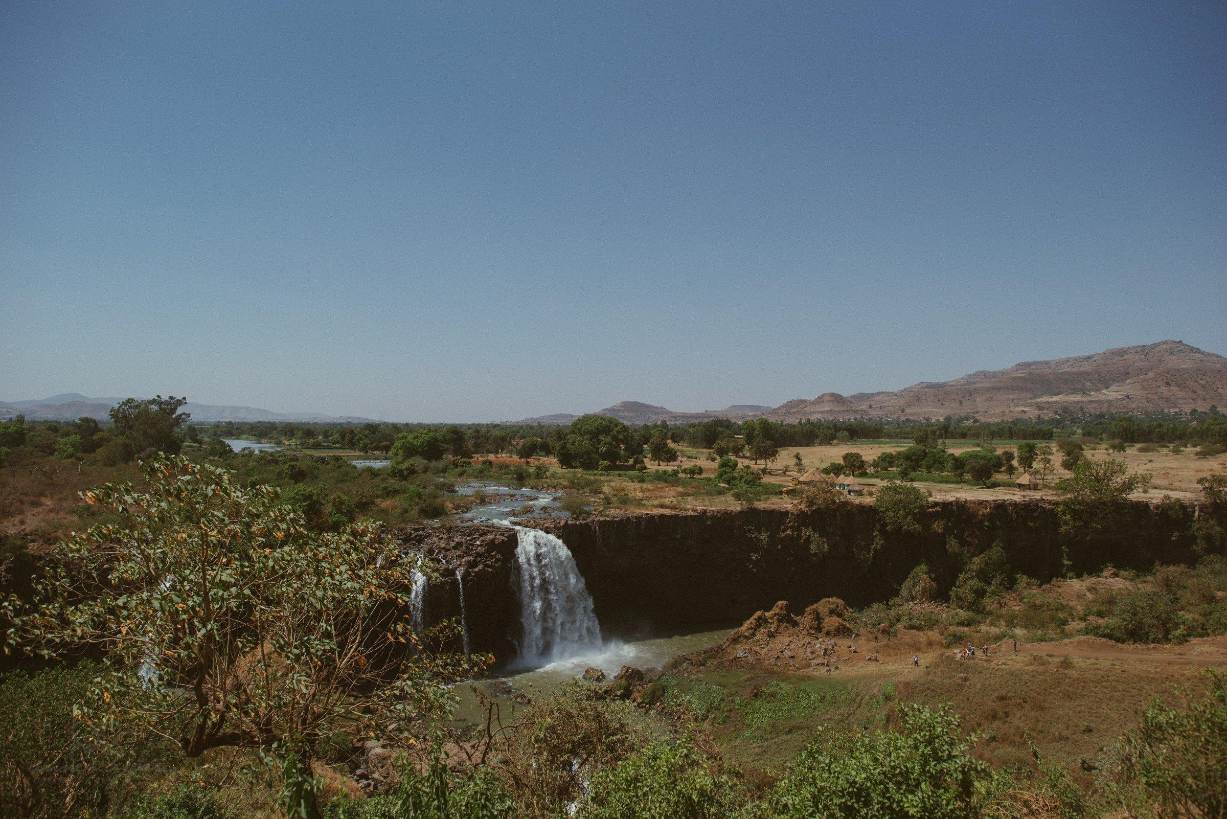 Wasserfall, Waterfall, Africa, blue Nile, Bahir Dar
