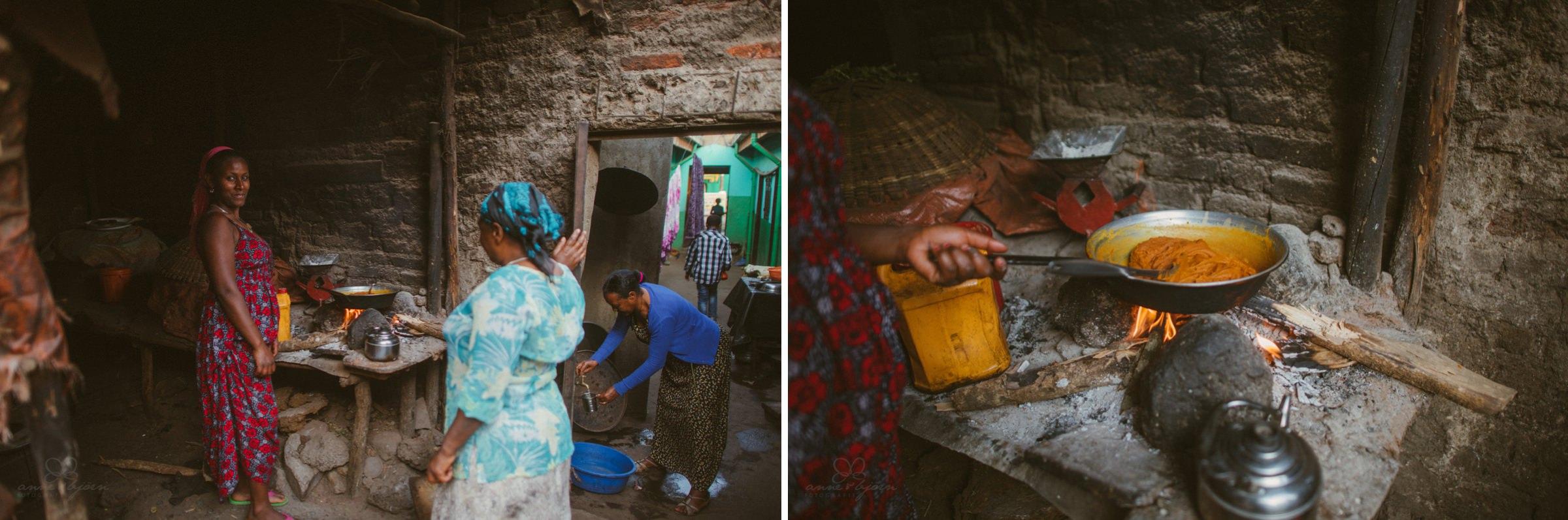 kochen, äthiopische Küche, Pfanne, Leben, Hausfrau, Frau, Afrika