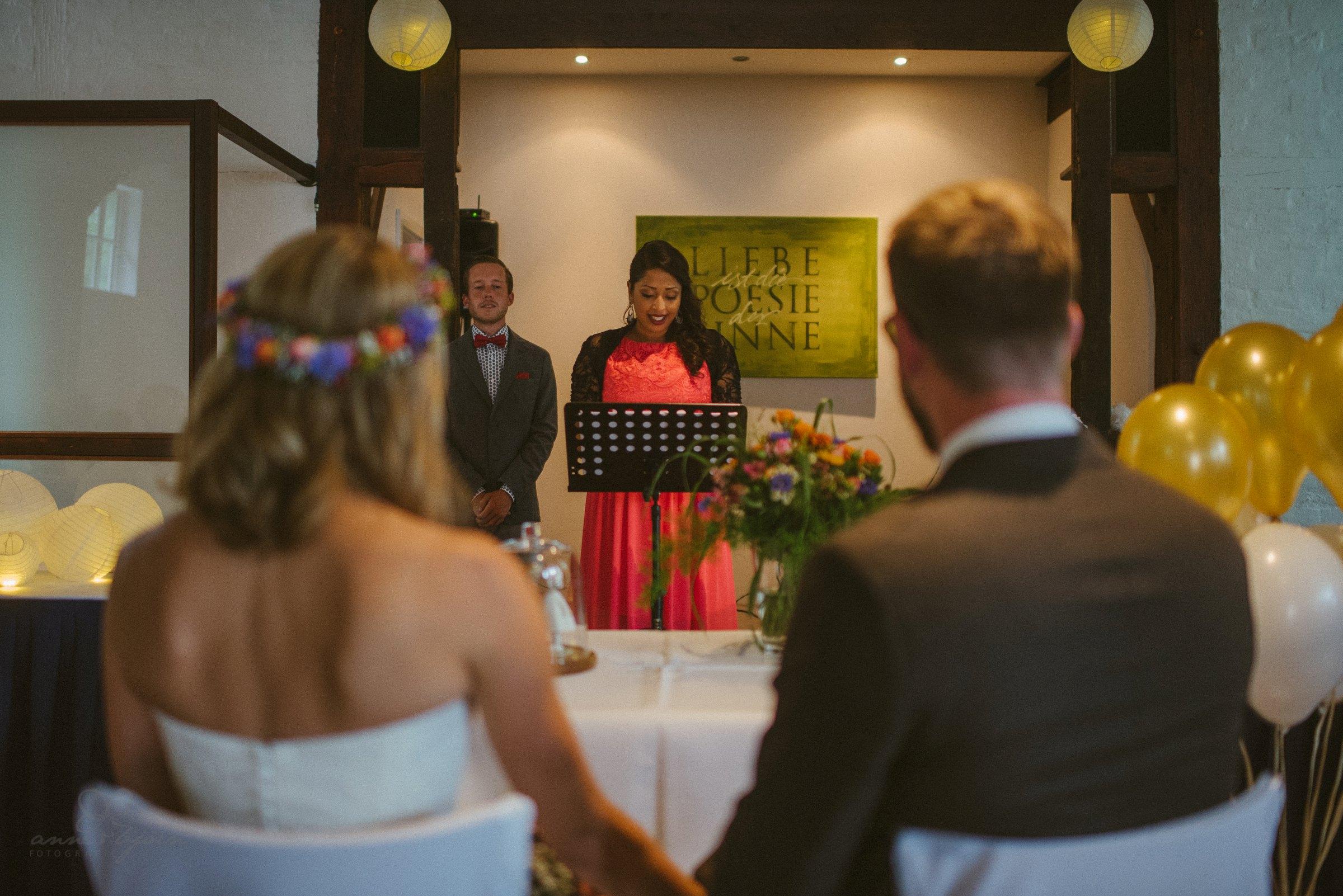 Sängerin, Brautpaar, Trauung, Standesamt