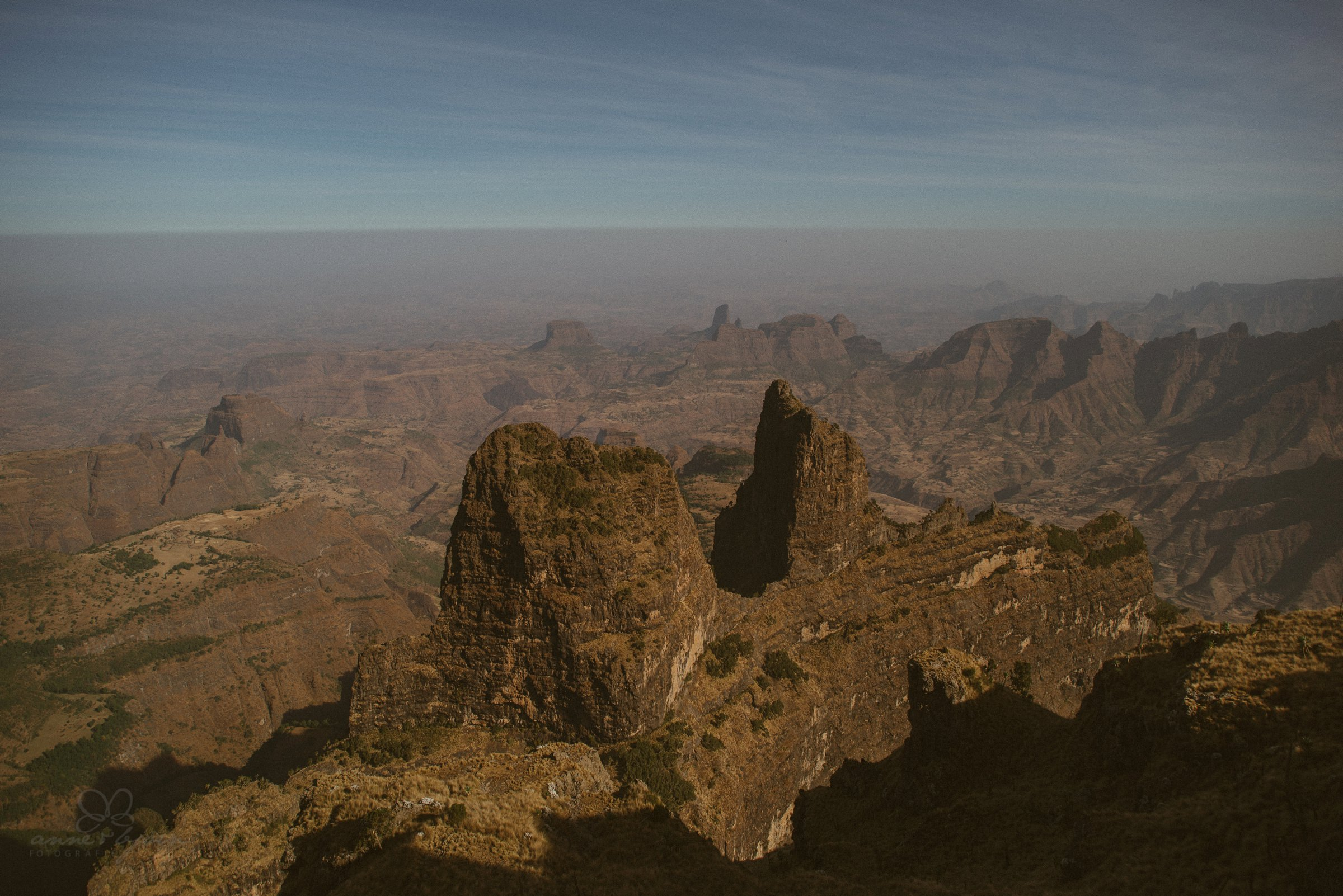 Aussicht, View, Simien Mountains, Africa, Ethopia