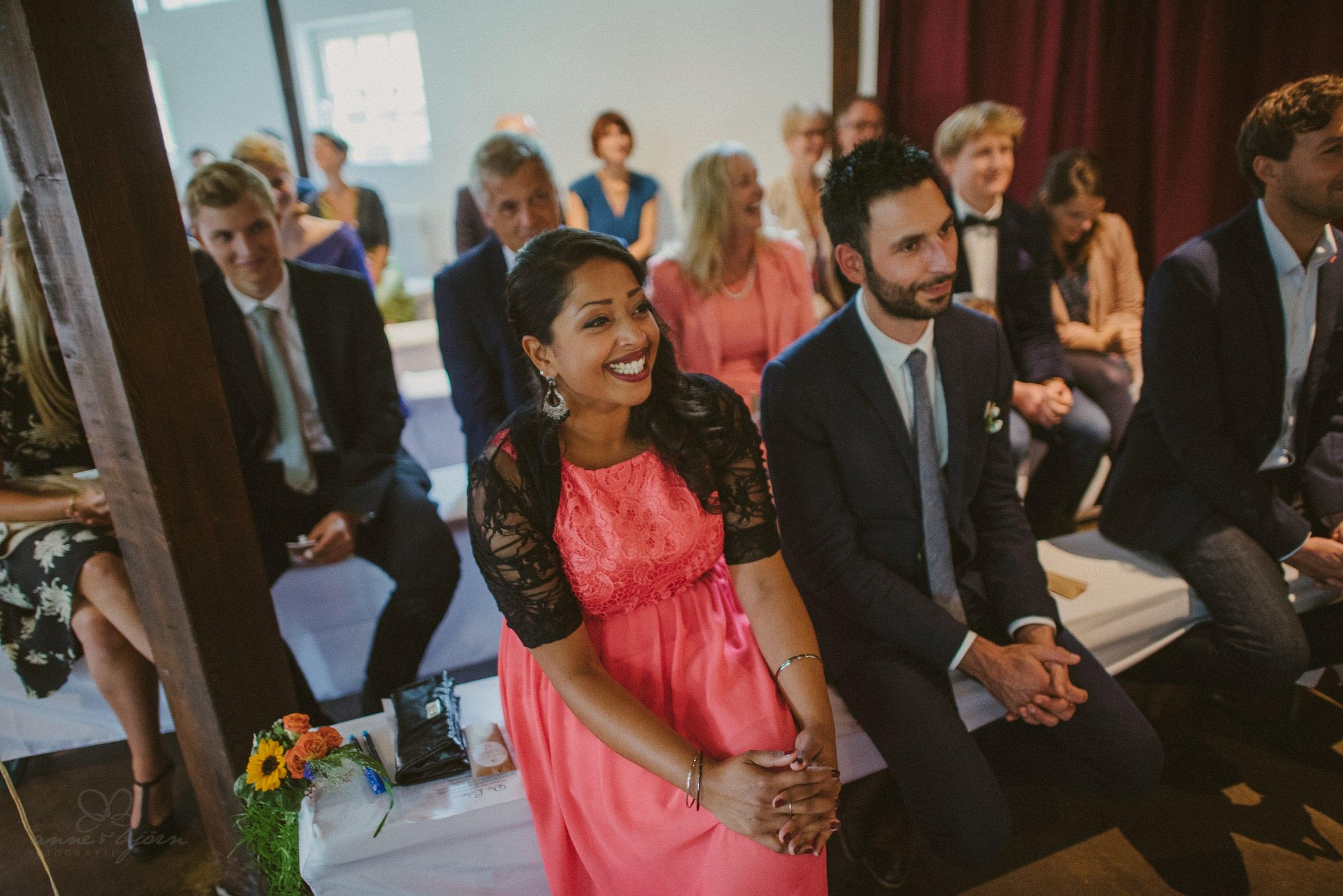 Gäste, Hochzeitsgäste, Freude