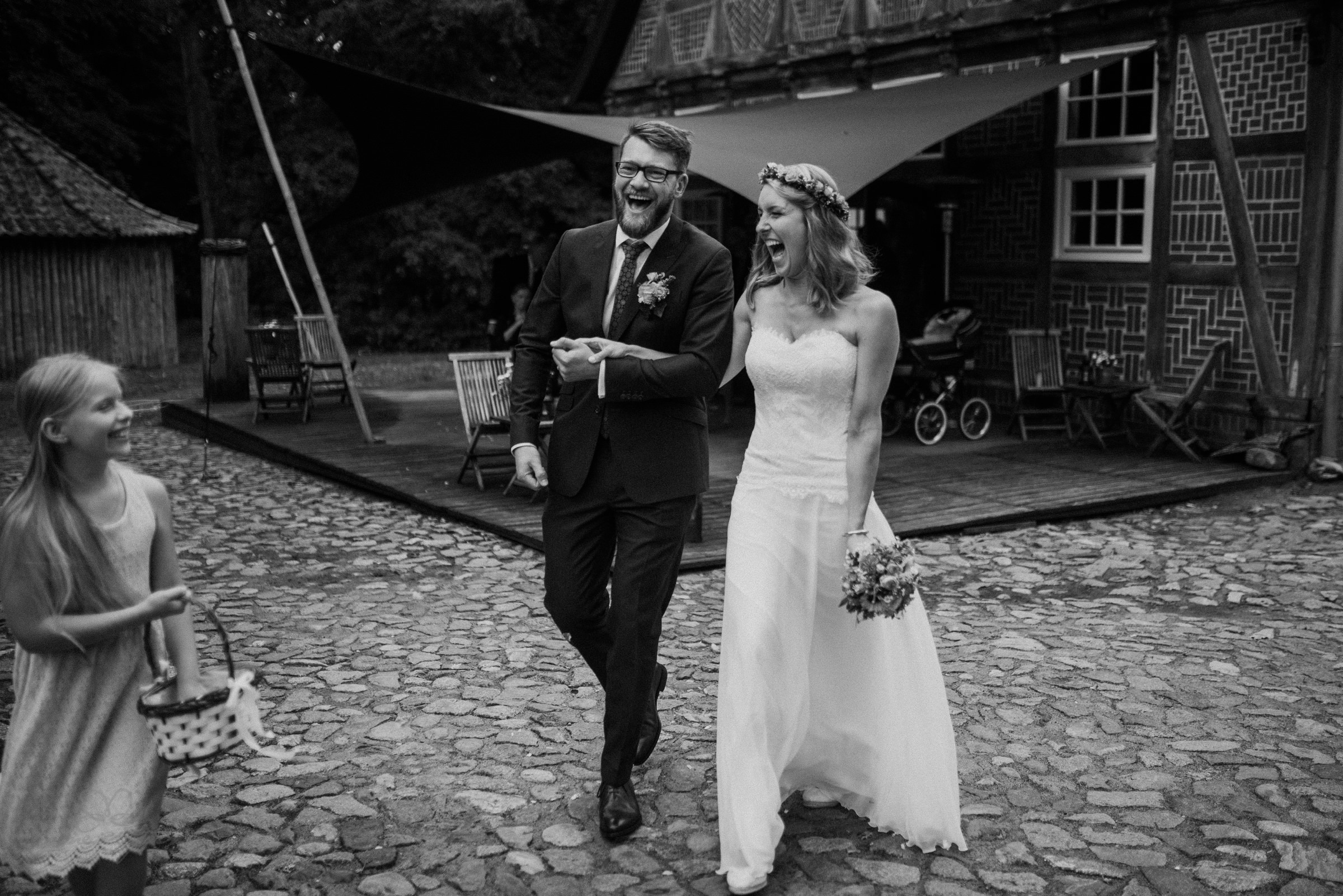 Freude, Blumenkind, Hochzeit, heiraten, Gut Thansen