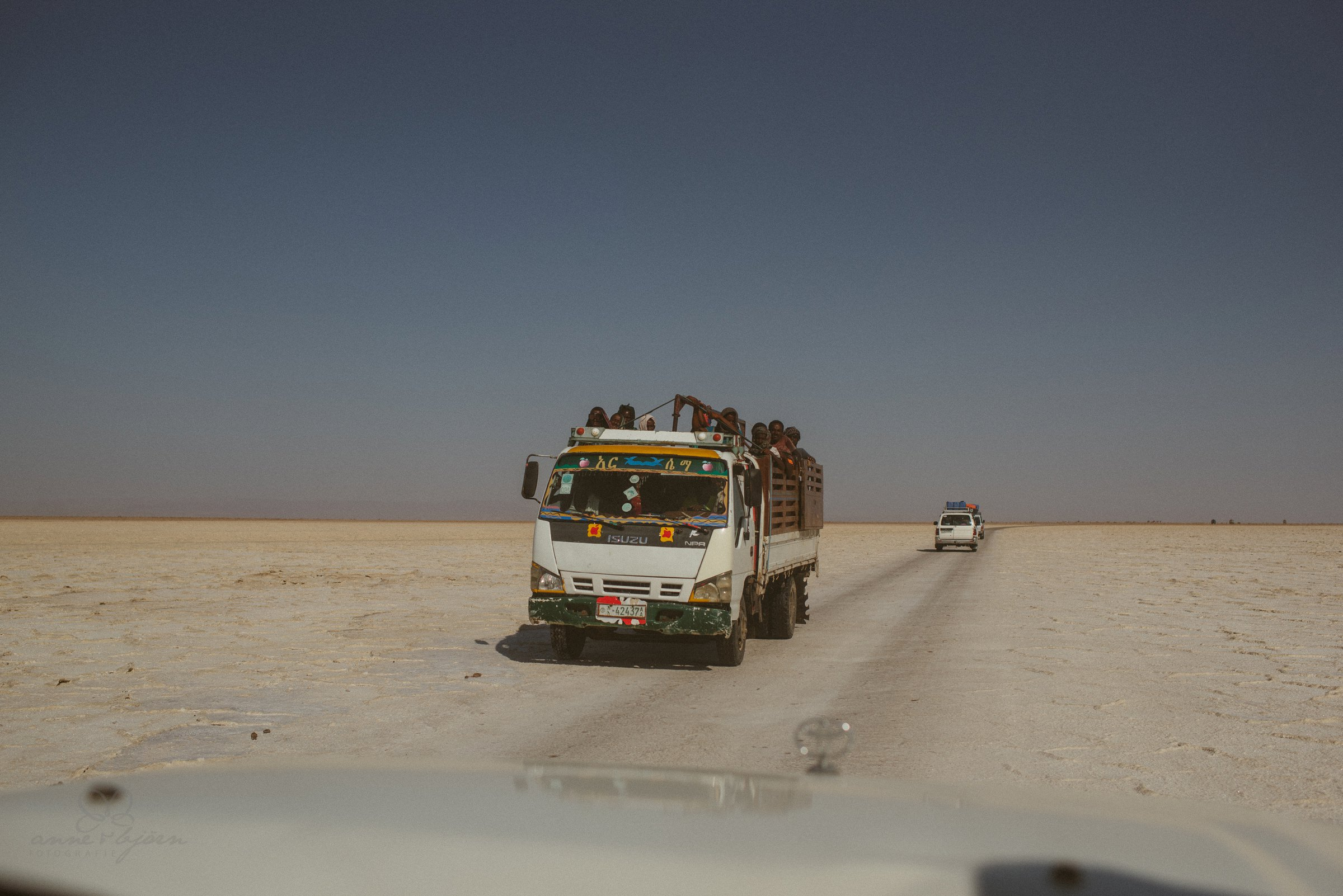 Transport, Wüste, Äthiopien