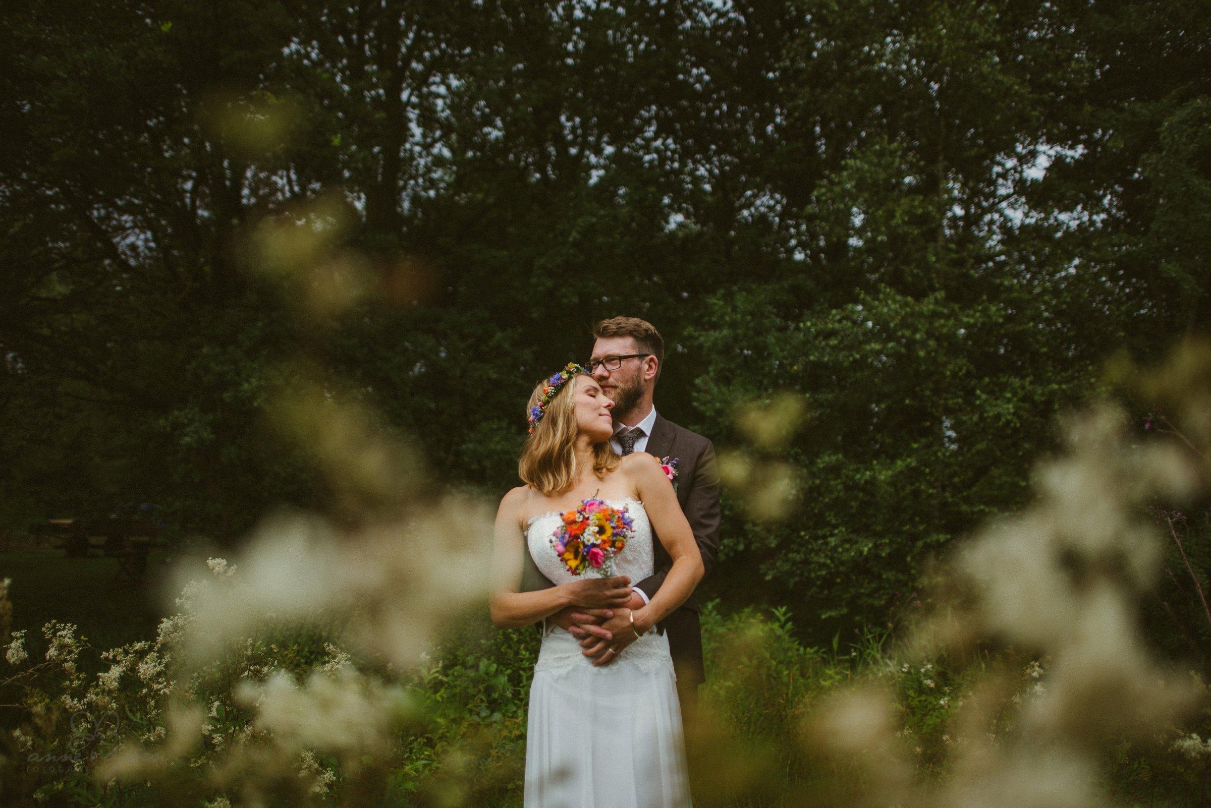 Hochzeitsfotograf Hannover, bunte Blumen, Blumenstrauß, Brautstrauß