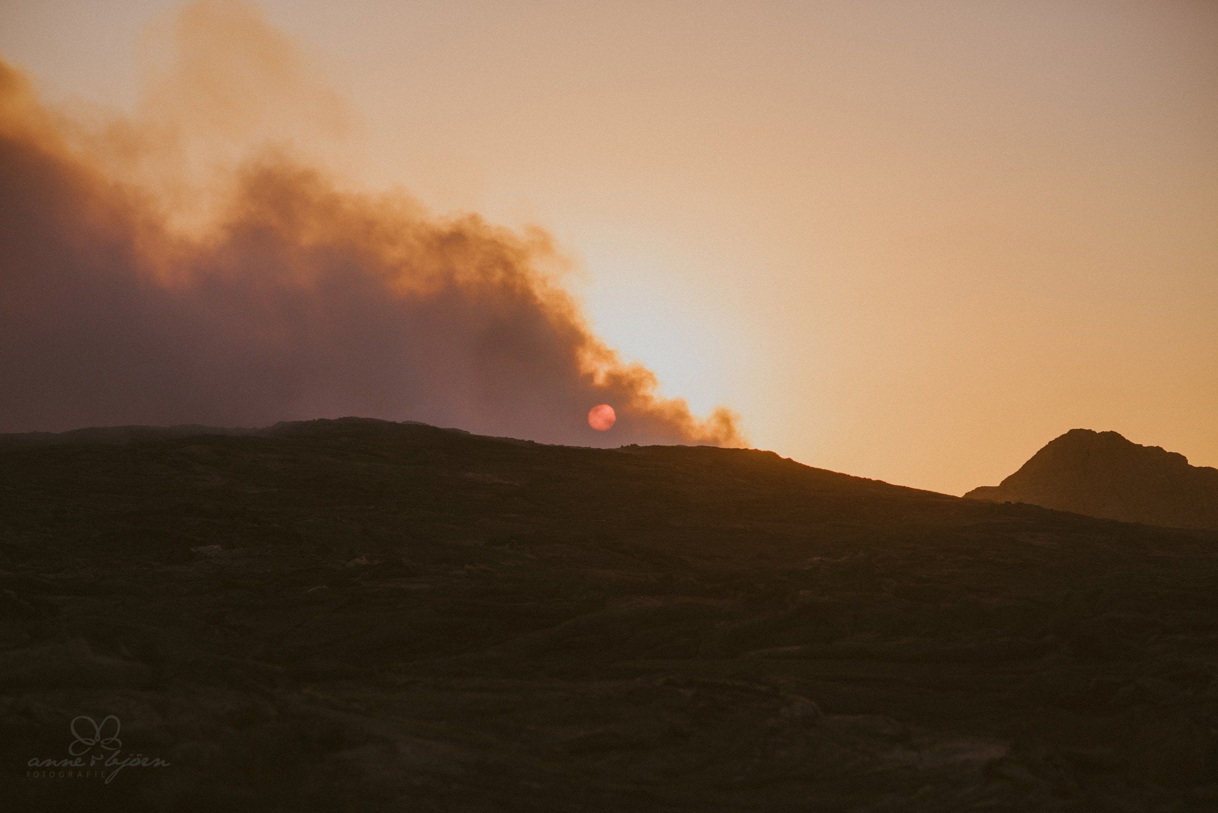 Sonnenaufgang, Vulkan, Lava, Ausbruch, Lavasee, Afrika, Äthiopien