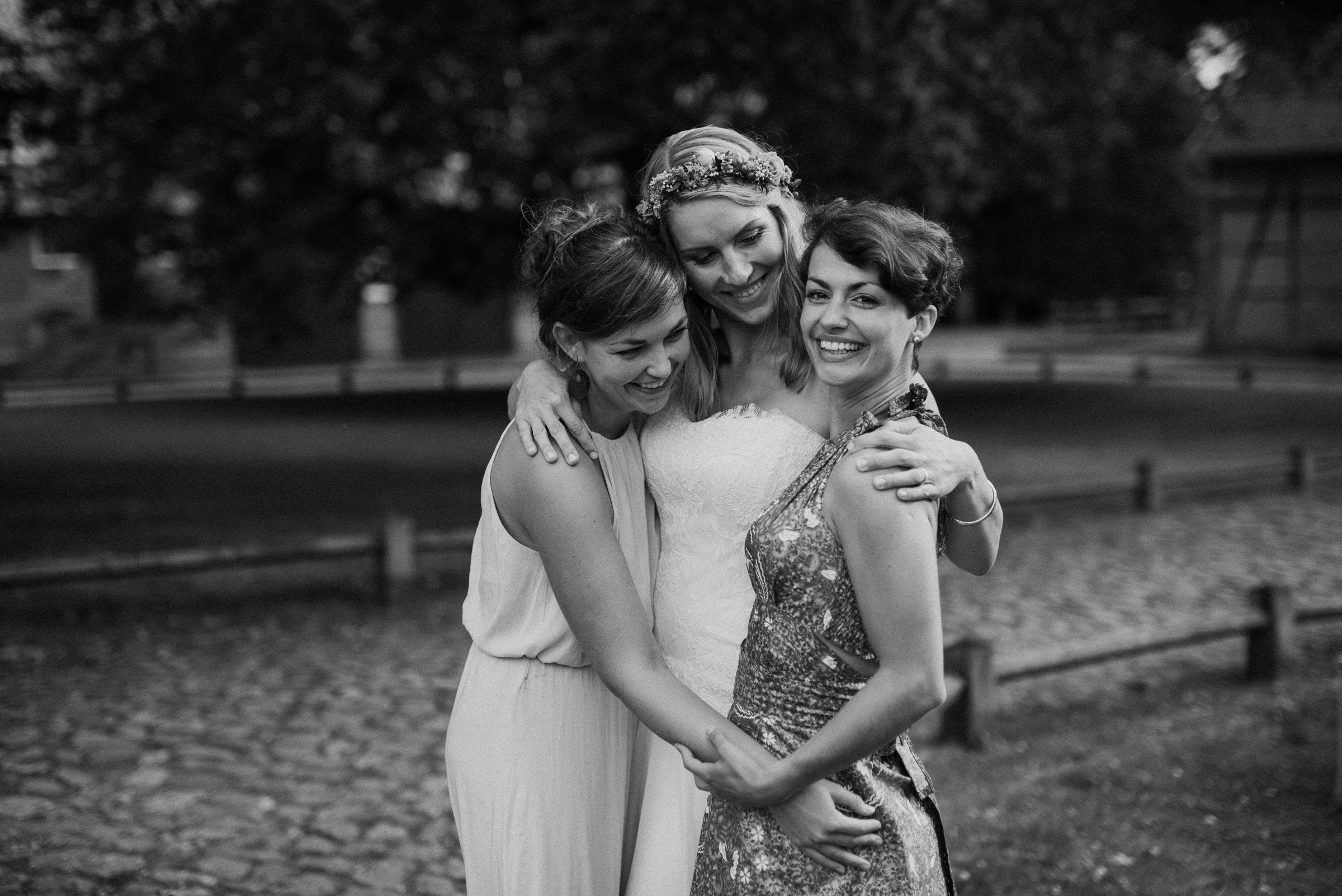 Freundinnen, real Love, Freundschaft, Hochzeitsbilder